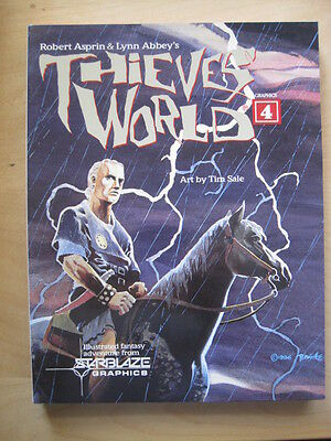 THIEVES WORLD Book 4 by ASPRIN & ABBEY. TIM SALE ART. OUTSIZE GRAPHIC COLLECTION