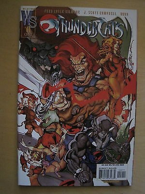 THUNDERCATS 0 ( ZERO ) by GILMORE & CAMPBELL. WILDSTORM. 2002