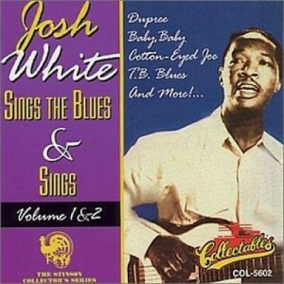 Josh White Sings The Blues and Sings 1 and 2 - CD NEU