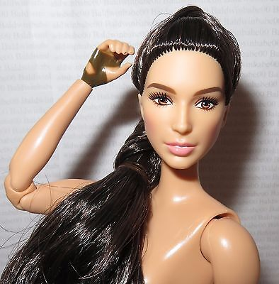 Nude Barbie ~ Raven Articulated Gal Gadot Paradise Island Wonder Woman For Ooak
