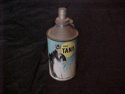 "1950s Vintage Peli-Can Cone Top Beer Can ""THE TANK""Lighter by Bowers USA"
