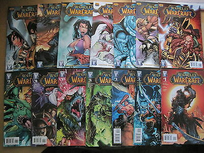 WORLD of WARCRAFT COMPLETE 25 ISSUE SERIES +2 SPs by  SIMONSON et.WILDSTORM.2008