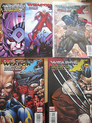 "WOLVERINE, WEAPON X : ""DAYS of FUTURE NOW"" : complete 5 issue SERIES.MARVEL.2005"