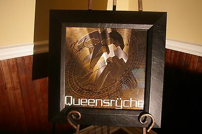 Queensryche Q2K CD / Album Flat  Autographed / Signed and Framed! AWESOME! 14x14