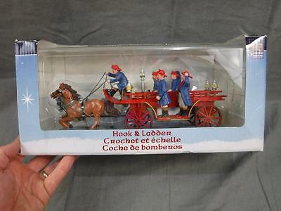 Hook & Ladder Fire Truck Carole Towne Collection 2007 Lemax