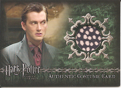 HARRY POTTER Goblet of Fire Barty Crouch Jr Costume Card C11 - #210/800 TENNANT