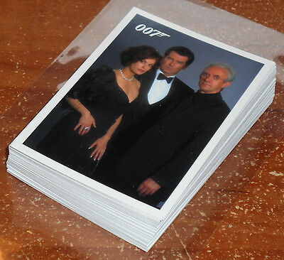 James Bond Archives 2014 ~ TOMORROW NEVER DIES Insert Card Lot (39, no dupes)