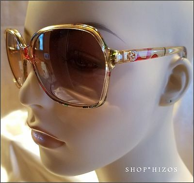 New Authentic Gucci Womens Floral Blush 60Mm Sunglasses 3636Nfs