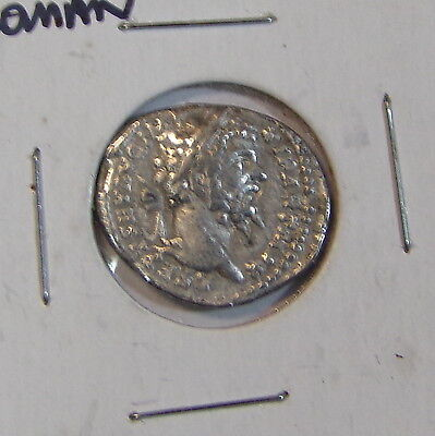 Ancient Roman Unknown Silver Coin 19Mm In Size