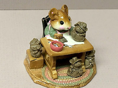 "WEE FOREST FOLK ""Mrs. Mousey's Studio"" M-184 William Peterson!"