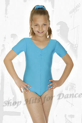 2011# Leotard Janette, Short sleeve Adult ruffle Gr. 36 to 42
