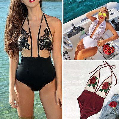 Sexy Monokini Swimsuit Swimwear Womens One Piece Bikini Set Beachwear Bathing