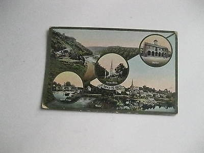 Ross On Wye Multiview Nice Card Postcard Posted 1915