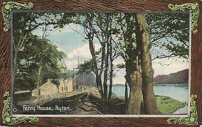 Old Postcard-RYTON-FERRY HOUSE-County Durham-UK