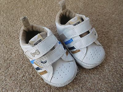 BRAND NEW Baby Next White Trainers Size 1 3-6 Months