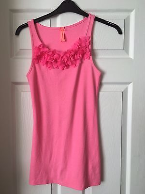 Pink Vest Top Age 15 Yrs By Next