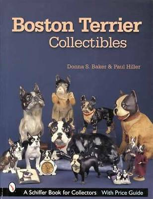 Boston Terrier Collectors Price & ID Guide - Cast Iron, Porcelain Figurines Etc