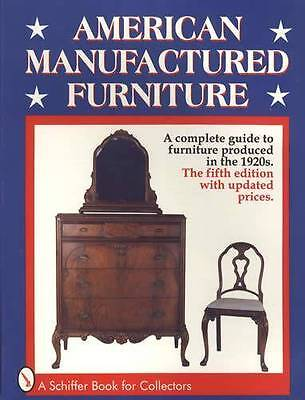 1920s Era Wood Furniture Collectors Guide - Old Manufacturers Catalog Reprints