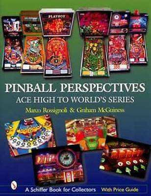 Vintage Pinball Machine Book Ace High to World's Series