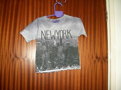 Baby Boys Tee Shirt Size 9-12 Months Greys From George