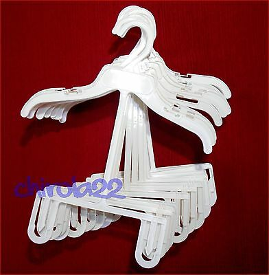 Plastic Hangers Clothes For Shirts And Pants Outfits Set Baby Kids Lot 12 C