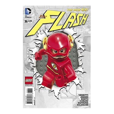 Flash #36 - Variant Cover - Lego Cover - The New 52 Dc Comics - Neuf / New