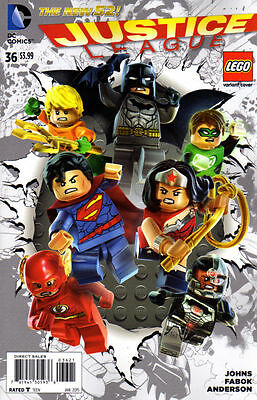 Justice League #36 - Variant Cover Lego - The New 52 Dc Comics - Neuf / New