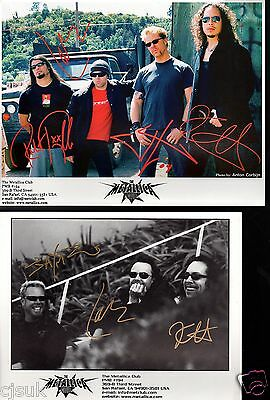 METALLICA The Metallica Fan Club So What Magazines Signed Photos Choose from 22