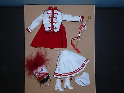 BARBIE Coca Cola (Coke) MAJORETTE 5th in Series De-Boxed FASHION 2001'