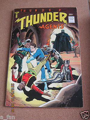 Thunder Agents #  4 April 1966 Tower Comics Randall Creed Wally Wood
