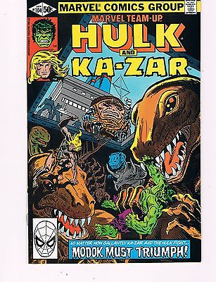 Marvel Team-Up #104 (1981)  Hulk, Ka-Zar & Modok Appearance