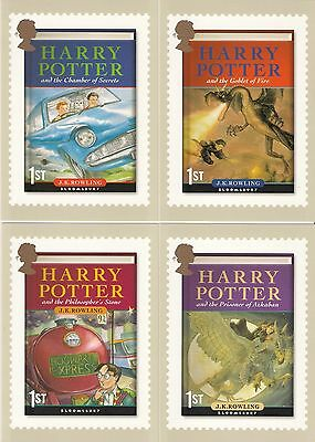 2007  *  A FULL SET OF 13 ROYAL MAIL PHQ POSTCARDS  **  HARRY POTTER   **  Mint.