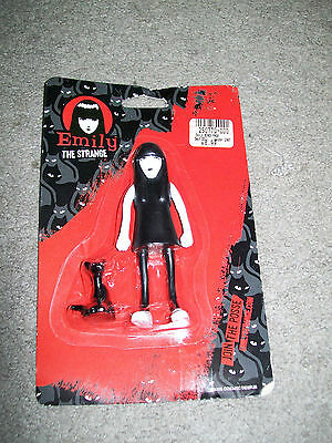 EMILY THE STRANGE & Sabbath Bendable Figurine Set NEW IN PACKAGE!