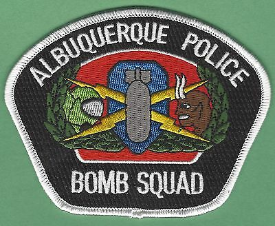 Albuquerque New Mexico Police Bomb Squad Patch New