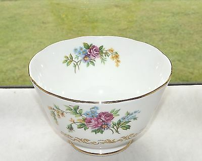 Royal Chelsea English Bone China Pattern 3710A Floral Sprays Sugar Bowl