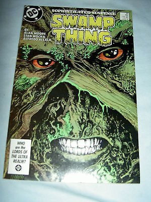 SWAMP THING  49.  CLASSIC by ALAN MOORE, WOCH & ALFRED ALCALA. DC COMICS.1986