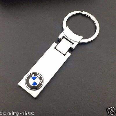 High Quality CAR LOGO Key Chain keyring pendant key holder FOR BMW Free Shipping