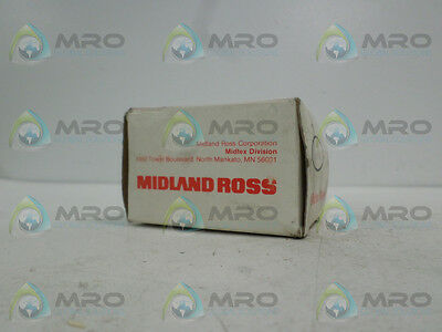 Midland Ross 155-90T1A1 Relay 120Vac *new In Box*
