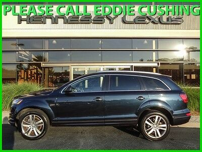 2012 Audi Q7 3.0T PREMIUM PLUS 2012 3.0T PREMIUM PLUS Quattro AWD One Owner Low Miles Panoramic Roof Navigation