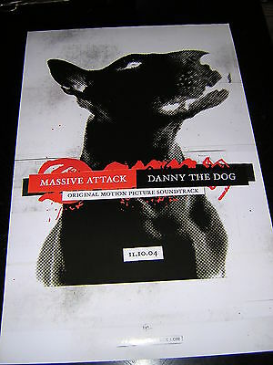 Original Massive Attack Promotional Poster - Danny The Dog