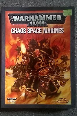 Chaos Space Marines - Warhammer 40K Army Book