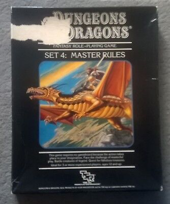 Master Dungeons & Dragons Box Set  - TSR 1021 - AD&D Adventure