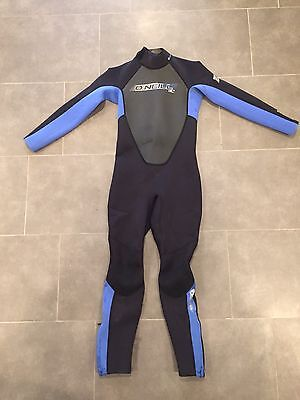 O'Neill Reactor Full 3/2 Wetsuit Kids Size 12