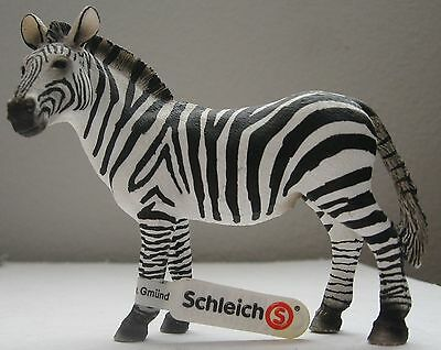Schleich Zebra Toy Figure New wih Tag 143920 Figurine Adult Femaile
