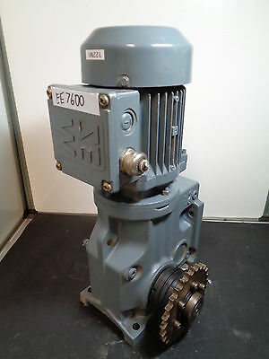 SEW Vector Geared AC Motor 3 phase 0.18KW 37RPM LOTEE7600