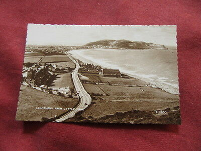 VINTAGE WALES: CONWAY LLANDUDNO from Little Orme RP sepia