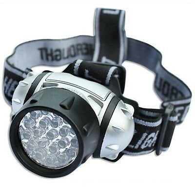 19 Led Waterproof Ultra Bright Camping Hiking Fishing Head Lamp Light
