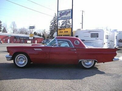 1957 Ford Thunderbird  1957 Ford Thunderbird Convertible Automatic 2-Door Vintage Classic 312 V8 Wow!!!
