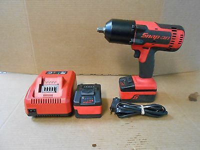 """SNAP ON TOOLS CT88500 1/2"""" Impact With Charger 2 BATTERES AND CARRY BAG"""