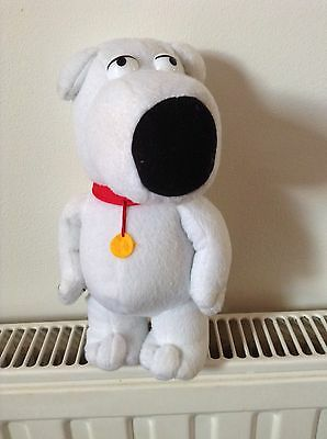 """9 """" Family Guy ( Brian The Dog ) Soft Toy Figure"""